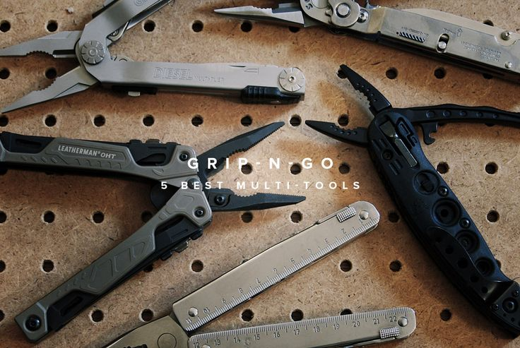 5 Best Multi-tools - Gear Patrol Some good ideas if you intend to carry a multi-tool.