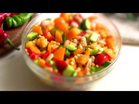 Мексиканский салат с кукурузой и фасолью - lublugotovit.me