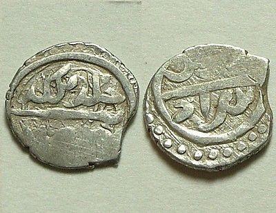Rare genuine Islamic silver akce coin/ Bayezid I (1389-1402) - http://coins.goshoppins.com/medieval-coins/rare-genuine-islamic-silver-akce-coin-bayezid-i-1389-1402/