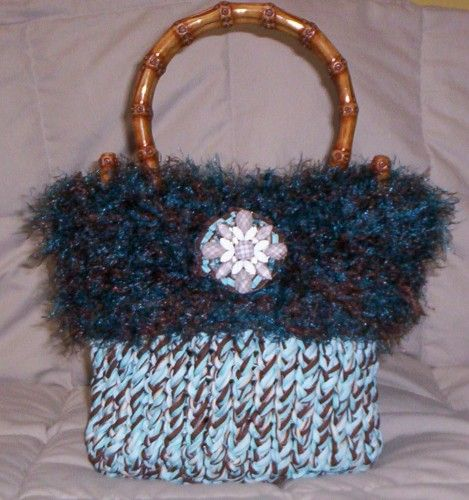 Loom Knitting Bag Patterns : 89 best Pin loom images on Pinterest