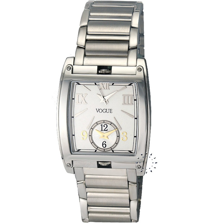 VOGUE Stainless Steel Bracelet White Dial Τιμή: 345€ Τιμή Προσφοράς: 69€ http://www.oroloi.gr/product_info.php?products_id=19190