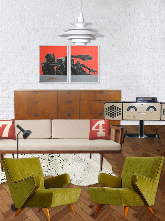 Modern Interior Design Mcm Mid Century.. I Like The Way This Design Has Been