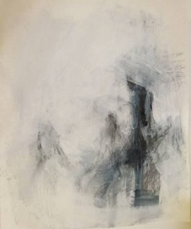 "Saatchi Art Artist Cynthia Gregor; Drawing, ""Two in shadow"" #art"