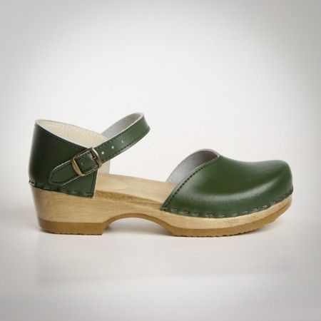 Closed Heel Clogs - Mary Jane - Sven Style # 184-13