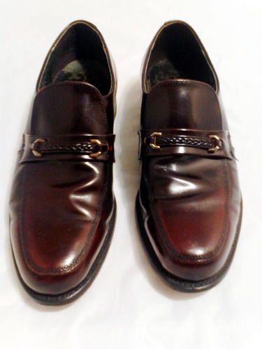 Executive Imperials Men's Dress Shoes Size 10 D in Burgundy