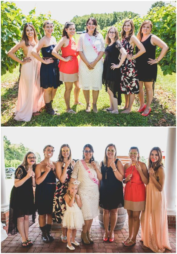 8974cb286ab This Vineyard Bridal Shower s Special Guests Will Make You Smile ...