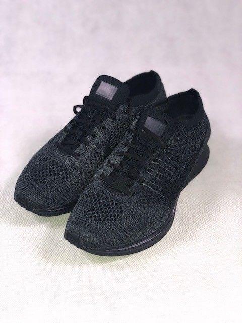 154b822fc60e NIKE FLYKNIT RACER 2016 TRIPLE BLACK 526628-009 Size 7  fashion  clothing   shoes  accessories  mensshoes  athleticshoes (ebay link)