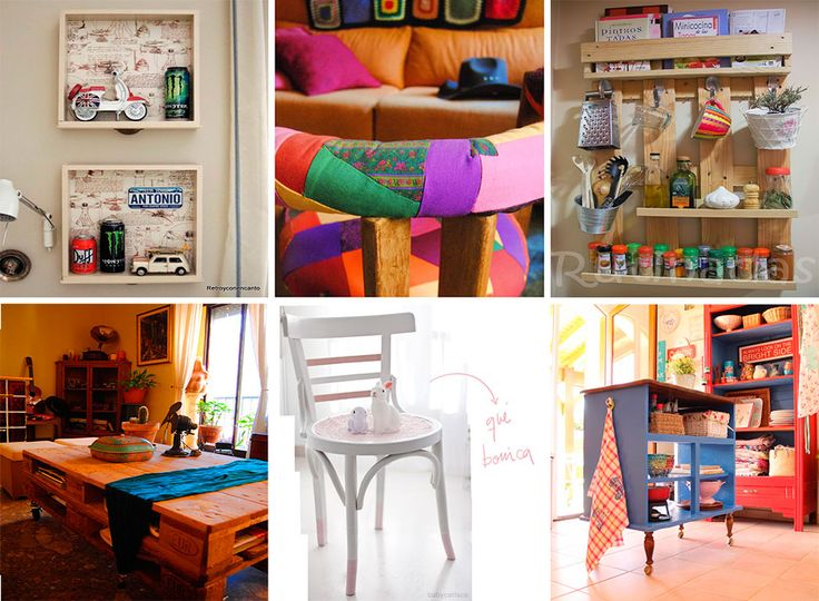 131 best images about decoracion low cost on pinterest for Decoracion low cost