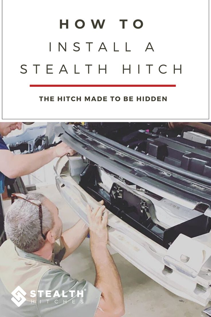 How do I Install a Stealth Hitch in 2020 Hitched