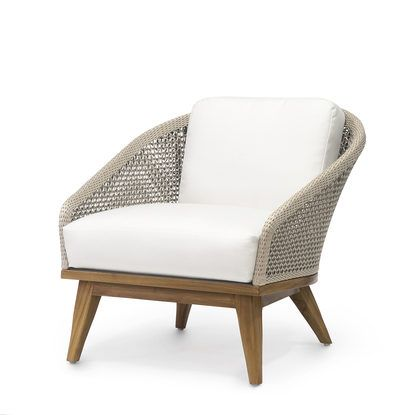Best Santorini Outdoor Lounge Chair By Palecek Small Lounge 400 x 300