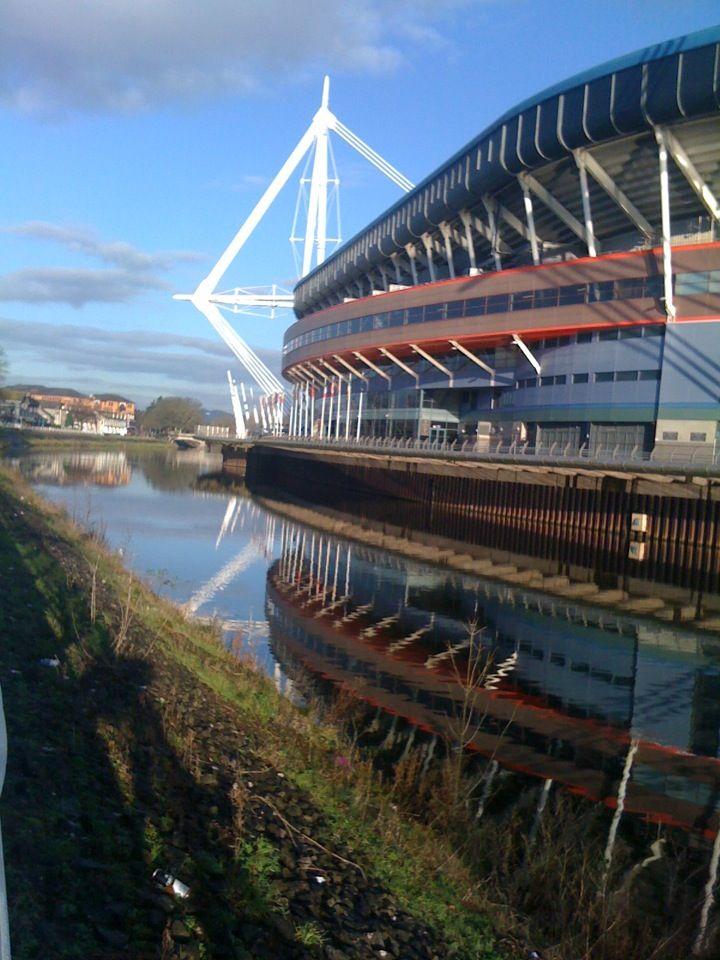 Millennium Stadium in Cardiff