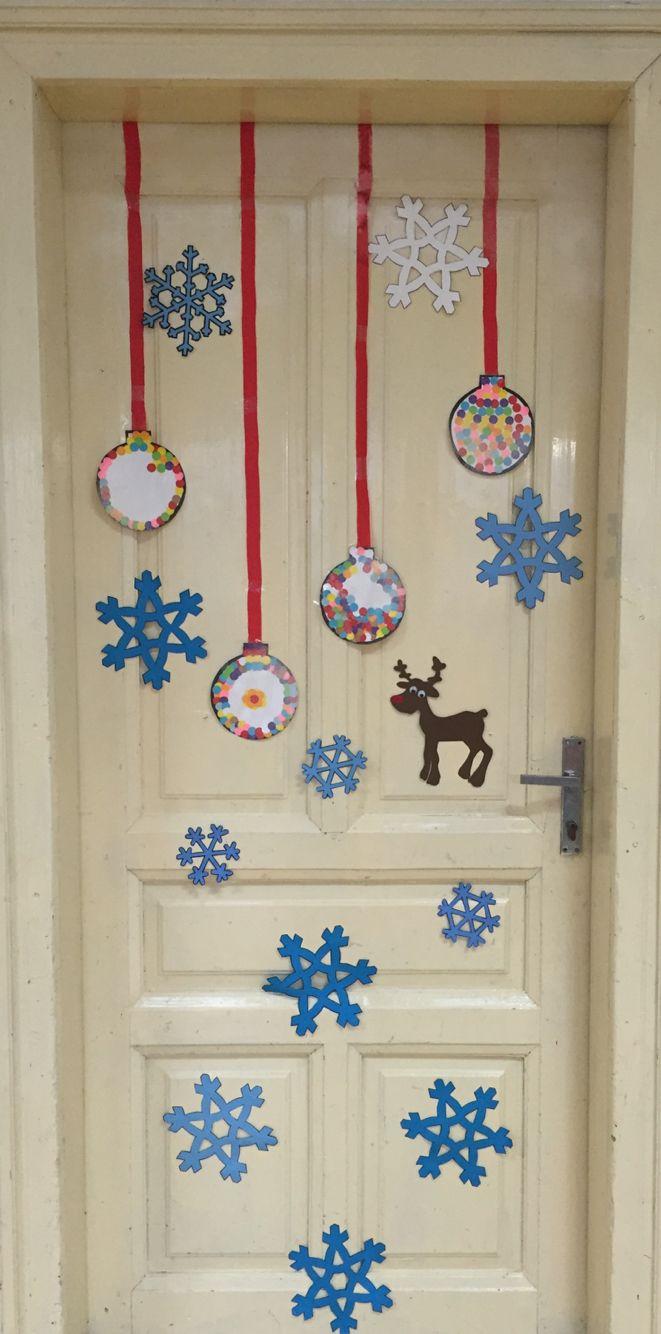 Vánoční dveře
