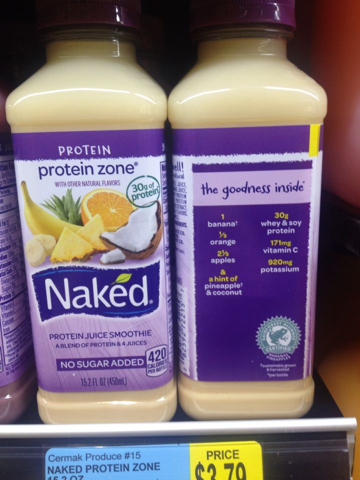 Naked Protein Juice Smoothie 61