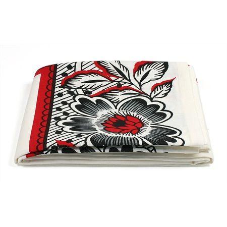 HollandsBont #servies - Tafelkleed bloem | www.serviesshop.com