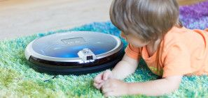 Jisiwei S Robot Vacuum with Security Cam Review and Giveaway #giveaway