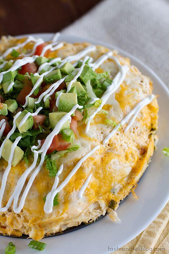 Chicken Tortilla Stack |