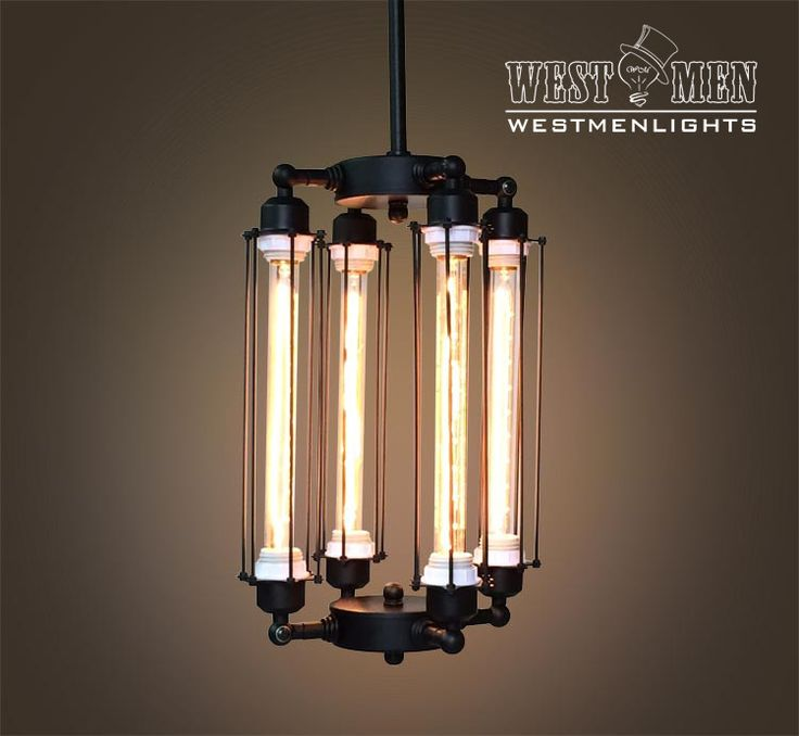 Westmenlights Entryway Cube Cage Chandelier Steampunk Ceiling Lamp Vintage Industrial Pendant Light Design