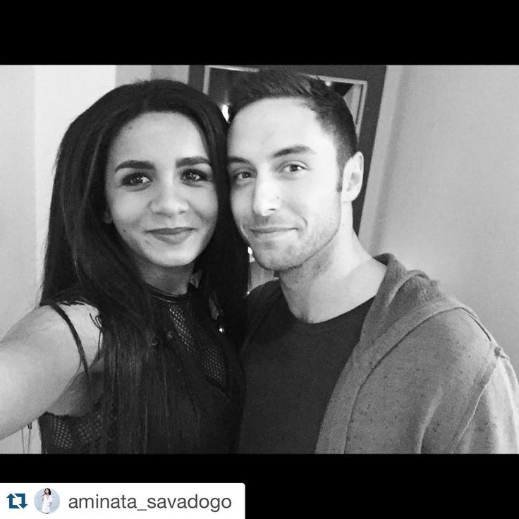 """Friends reunited! #Eurovision #heroestour #latvia #riga #månsters #månszelmerlöw #aminata #Repost @aminata_savadogo with @repostapp. ・・・ Hey! A good day today... First of all because I met a friend from #Eurovision @manszelmerlow! (It was a pleasure to meet You in Riga and... See you tomorrow in Tallin! )And, also because Today I presented my new song """"Bridges!"""" It was a pleasure to meet You in Riga and... See you tomorrow in Tallin!"""