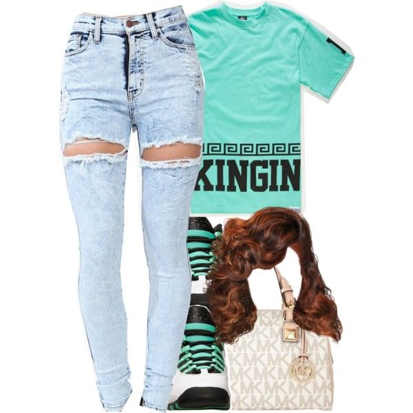 Untitled #366 by trillestqueen on Polyvore featuring polyvore, fashion, style, MICHAEL Michael Kors and Last Kings