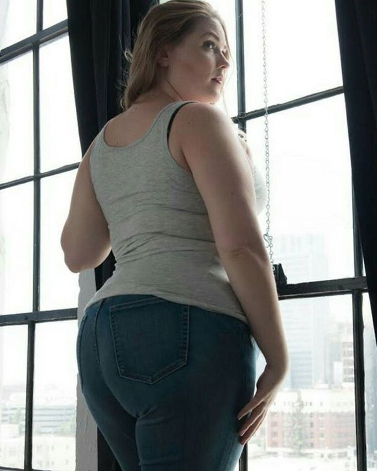 #HappyHumpday  Totally love my butt in this #unedited photo from the awesome @brandanjzachery  Stylist/Creative Director/Eye Makeup by the multi-talented and gorgeous @cambriaplusmodel  Jeans from @gap  Tank from @curvygirlfever  Studio @apexphotostudios . . . . . . . . . #booty #bootypop #peach #bööty #curvygirlfever #curvy #curves #curve #naturallight #today #style #outfit #look #fashion #tallasgrandes #modelo #fatshion #celebratemysize #ass #beauty #butt