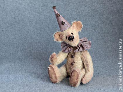 "Мишка тедди ""Клоун"" - мишка тедди,мишка тедди купить,мишка тедди подарок"