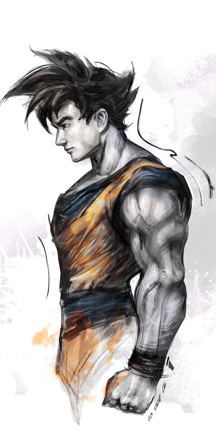 ArtStation - Goku, iVAN TAO