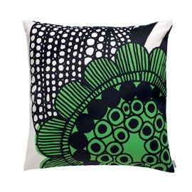 MARIMEKKO GREEN AND WHITE