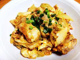 簡単♪もも肉のキムチマヨネーズ炒め by なおくんBRT [クックパッド] 簡単おいしいみんなのレシピが258万品