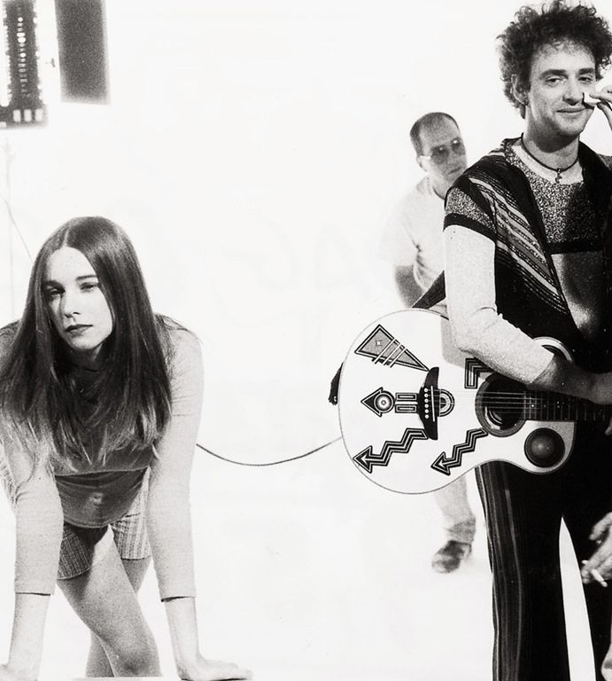 Gustavo Cerati y Cecilia Amenabar