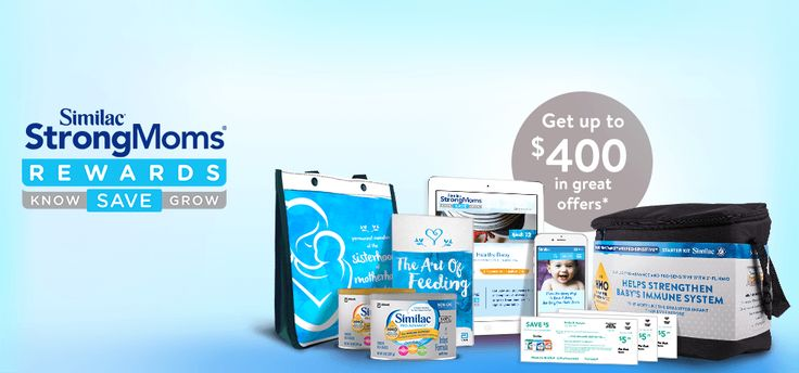 Sign Up Now  For Formula Samples And Free Coupons