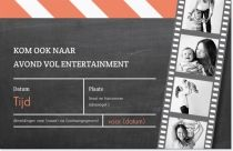 entertainment evenement Uitnodigingen en aankondigingen