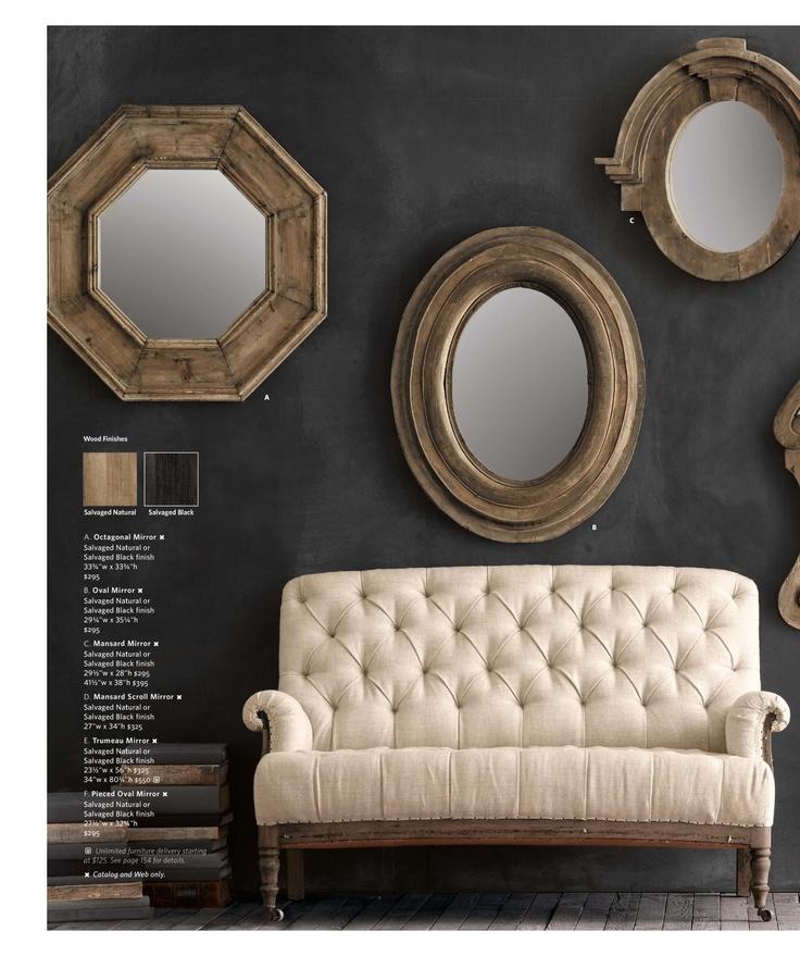 83 best restoration hardware livingroom images on pinterest - Small spaces restoration hardware set ...