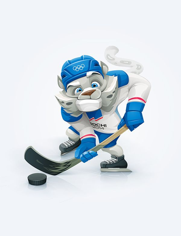 Olympic Mascot - Incredible Mascot Character Design