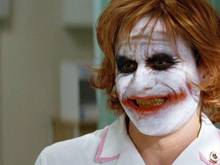 Heath Ledger aka 'Joker'.