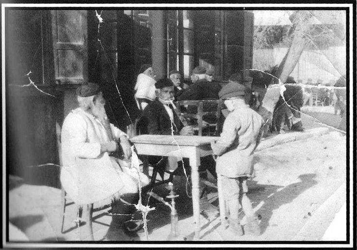 Life in Megara Greece before 1900.Rare moment