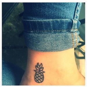25 best ideas about pineapple tattoo on pinterest cute for Tattoo parlors in anchorage