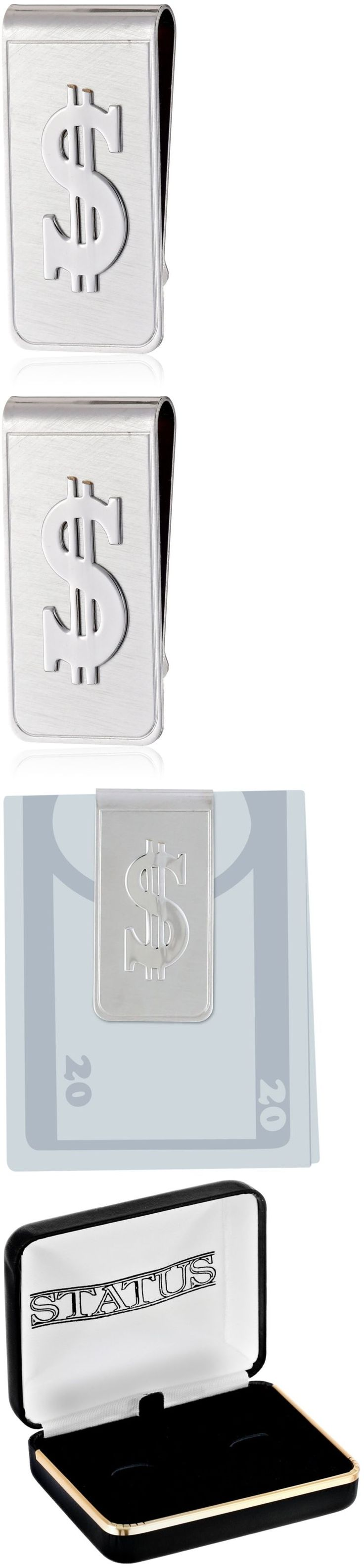 Money Clips 60120: Status Mens Money Clip Flat With $ Sign, Silver, One Size -> BUY IT NOW ONLY: $35.74 on eBay!