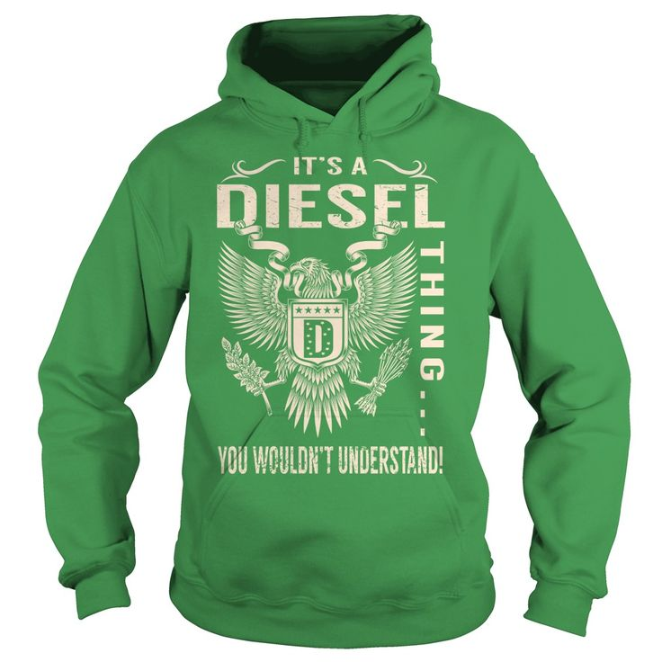 Its a DIESEL Thing You Wouldnt Understand - Last Name, Surname T-Shirt (Eagle)