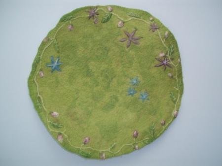 Kukkaköynnös -taulu
