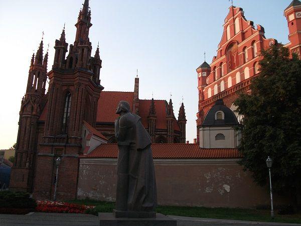 Litwa, wyjazd, Wilno