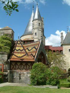 Chateau La Rochepot ~ (près de Beaune) ~ Côte d'Or *région Bourgogne, France…