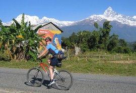 POKHARA TO KATHMANDU Mountain Biking in Himalaya KE adventure