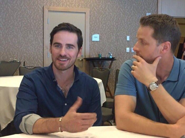 Colin O'Donoghue and Josh Dallas at San Diego Comic Con 2016 - 23 July 2016