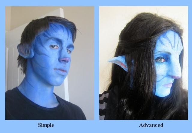 Simple and advanced avatar na vi makeup http www baroque in babylon