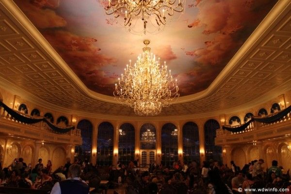 Be Our Guest Restaurant ball room