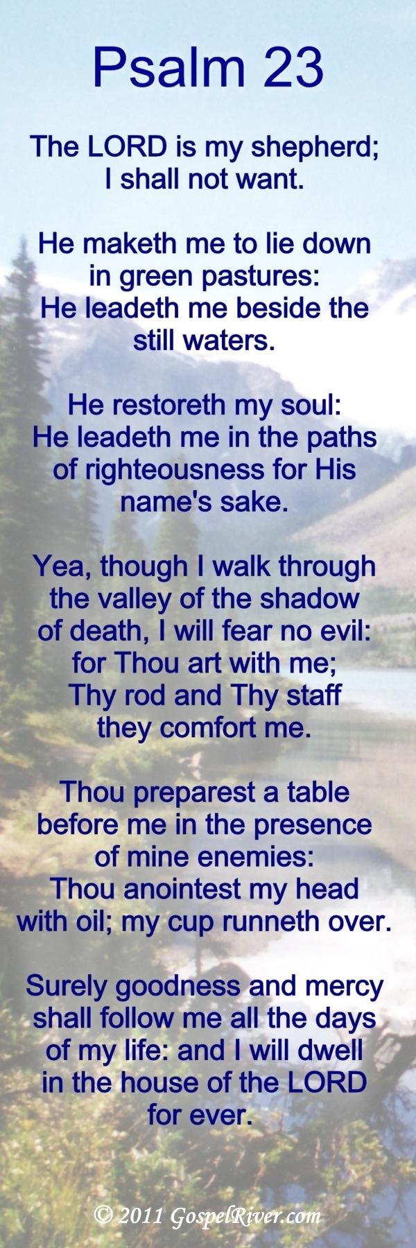 ... in truth. A powerful prayer. Miss you Grandma; Praying for Grandpa