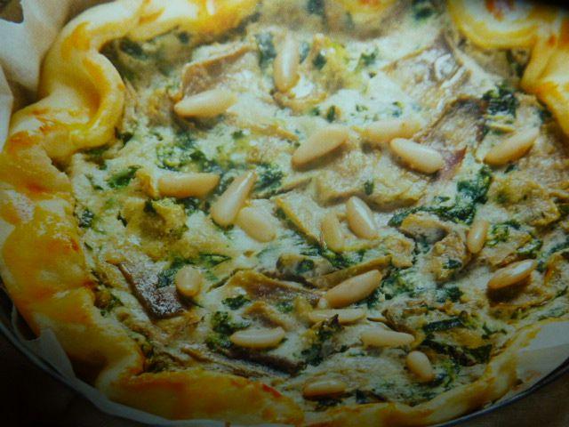 Torta salata ricotta spinaci