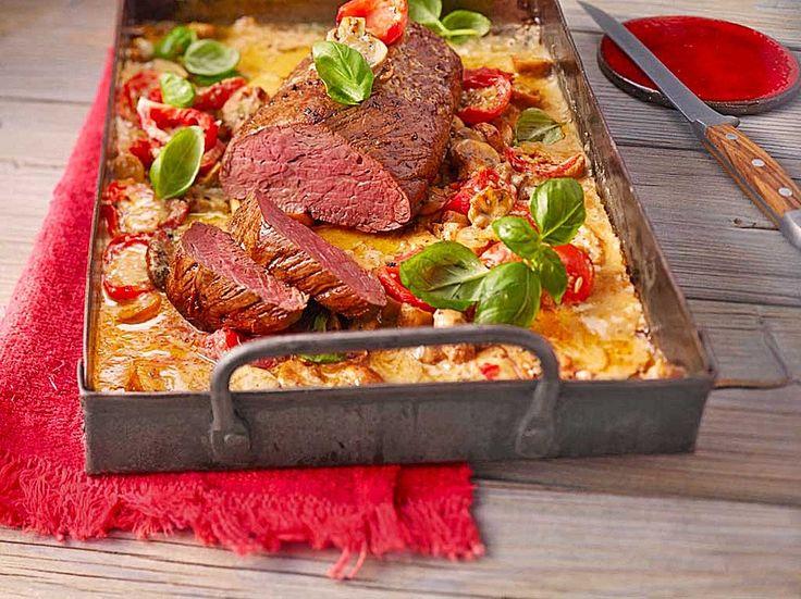 Rinderfilet aus dem Ofen, ein schmackhaftes Rezept aus der Kategorie Rind. Bewertungen: 45. Durchschnitt: Ø 4,5.