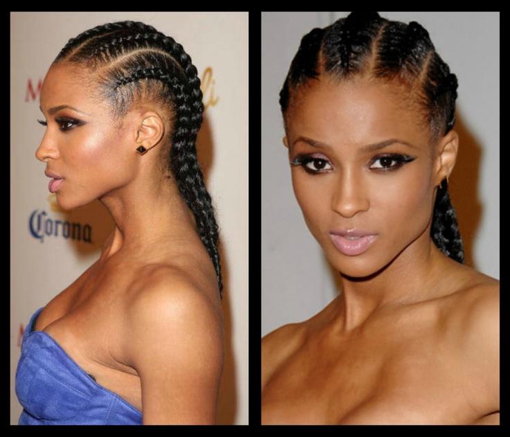 36 best Goddess braids images on Pinterest | Braids, Hair dos and ...