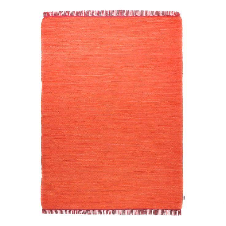 Tappeto Cotton Tappeti e Arancione